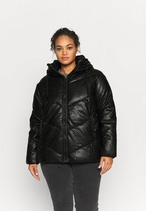 PADDED COAT - Light jacket - black