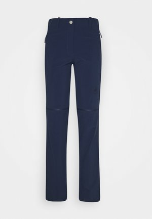 RUNBOLD ZIP OFF WOMEN - Pantaloni outdoor - marine