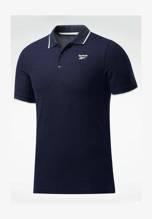 TRAINING ESSENTIALS POLO SHIRT - Poloshirt - blue