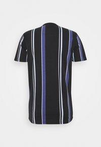 Hollister Co. - STRIPE LOGO - T-shirt con stampa - black - 1