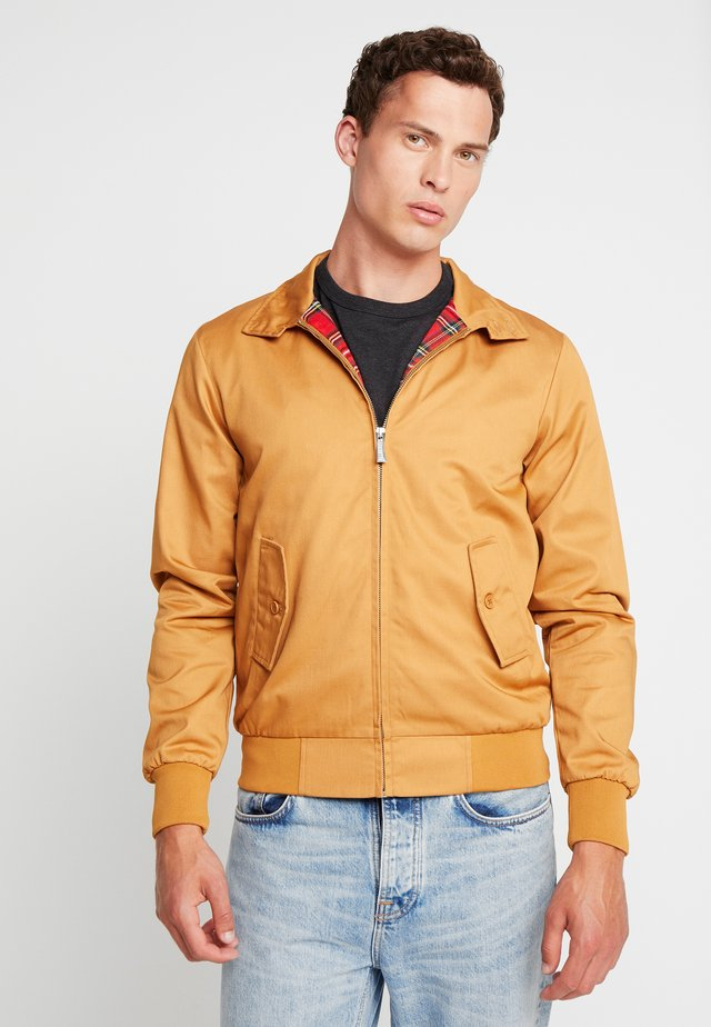 HARRINGTON - Giubbotto Bomber - caramel