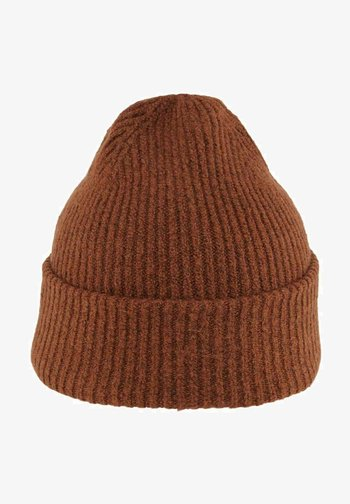 BASIC - Beanie - amber brown melange