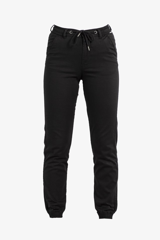 REFLEX - Trousers - black