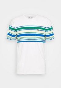 Lee - STRIPY TEE - Print T-shirt - ecru - 4