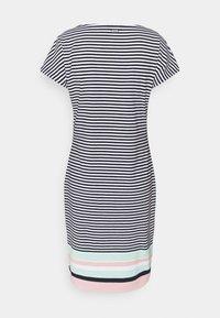 Barbour - HAREWOOD STRIPE DRESS - Žerzejové šaty - navy - 7