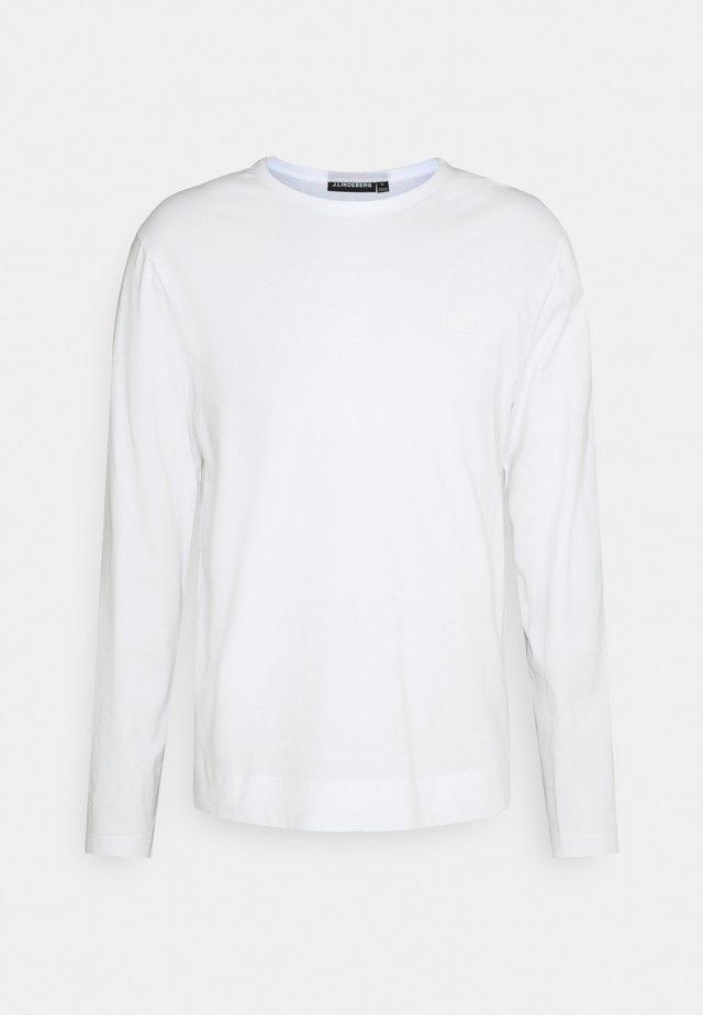 CHARLIE LONG SLEEVE - T-shirt à manches longues - white
