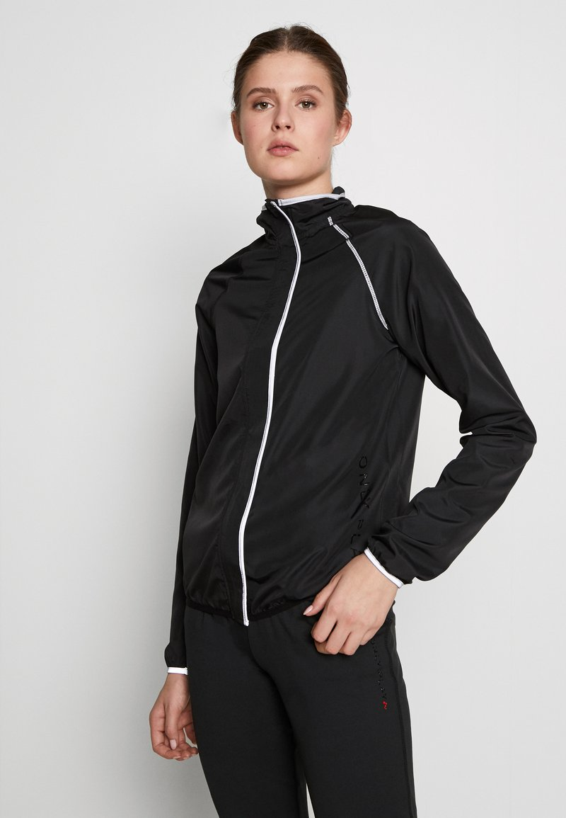 ONLY PLAY Tall - ONPPERFORMANCE RUN JACKET - Chaqueta de entrenamiento - black