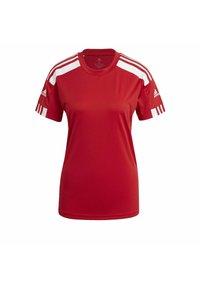 adidas Performance - SQUADRA 21 - T-shirts med print - team power red white - 8