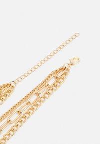 Urban Classics - LAYERING CHAIN NECKLACE UNISEX - Smykke - gold-coloured - 1
