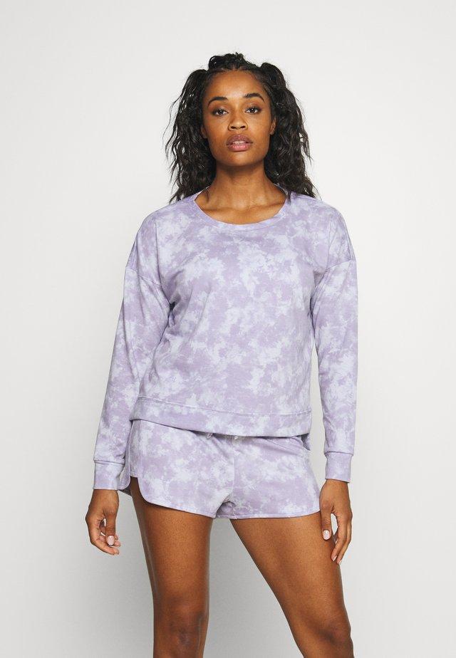 HIGH LOW - Sweatshirt - lavender acid