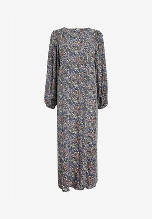 TEXTURED COLUMN - Maxi dress - lilac