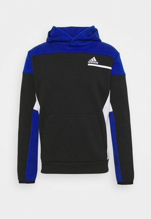 ZNE SPORTSWEAR RELAXED HOODED - Huppari - black/royal blue