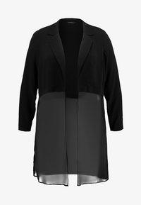 Evans - COVER UP - Summer jacket - black - 4