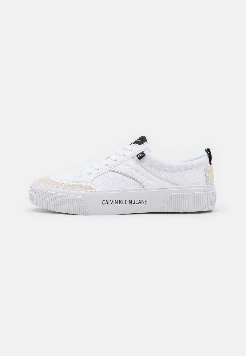 Calvin Klein Jeans - LACEUP MIX - Trainers - bright white