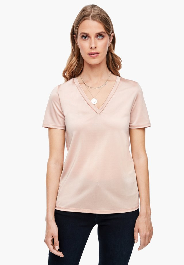 Basic T-shirt - dusty rose