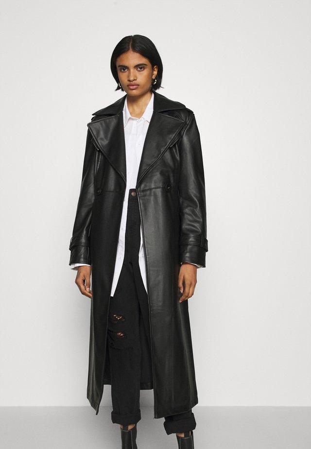NORA COAT - Trenchcoat - black