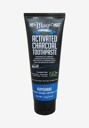 CHARCOAL TOOTHPASTE PEPPERMINT 113G - Soin dentaire - -
