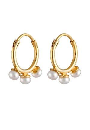 HOOPS PEARLS - Earrings - gold