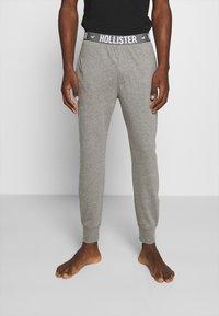 Hollister Co. - JOGGER LOUNGE BOTTOMS - Bas de pyjama - grey - 0