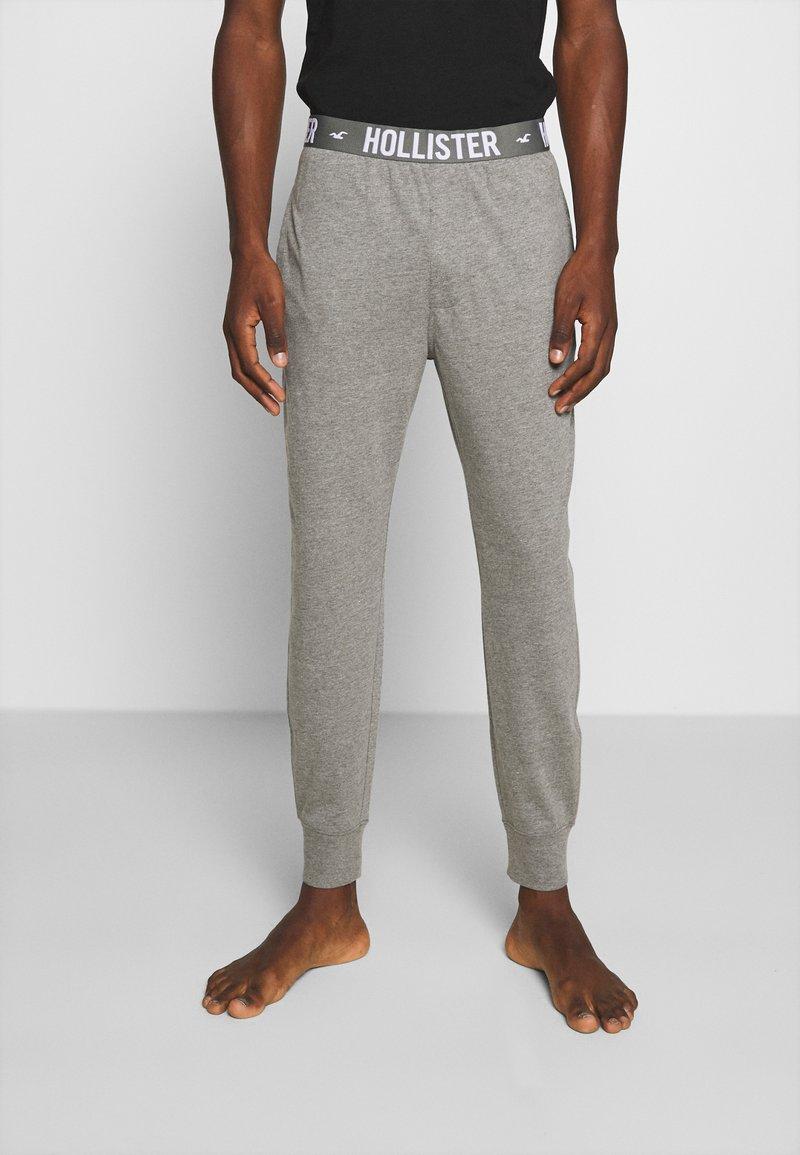 Hollister Co. - JOGGER LOUNGE BOTTOMS - Bas de pyjama - grey