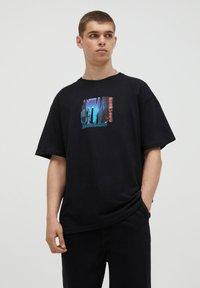 PULL&BEAR - T-shirts print - black - 0