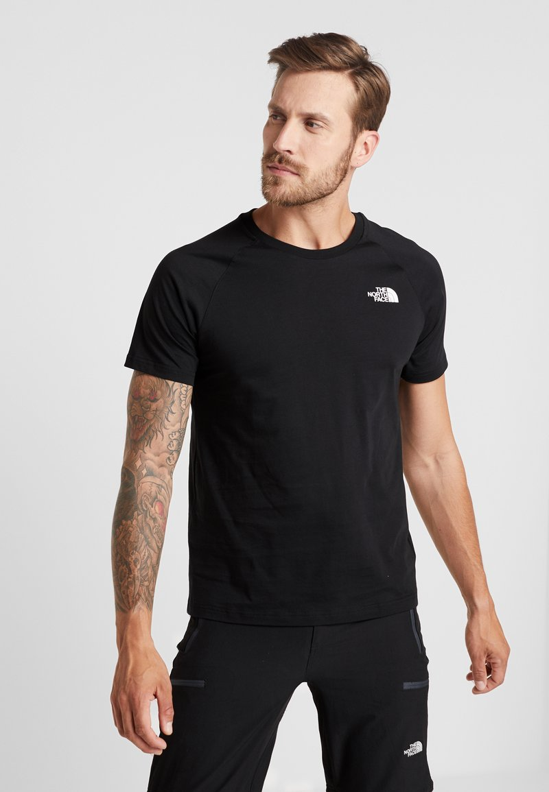 The North Face - TEE - T-shirt med print - black