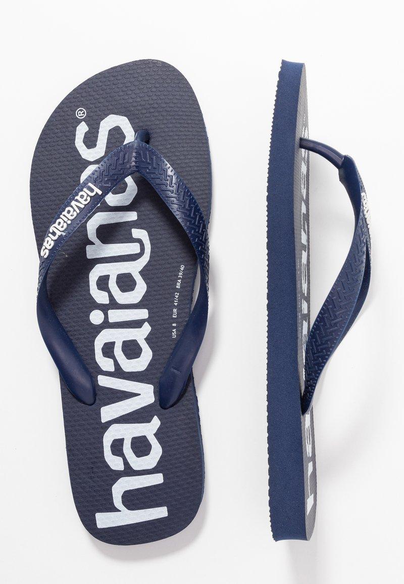 Havaianas - TOP LOGOMANIA  - Badesko - navy blue