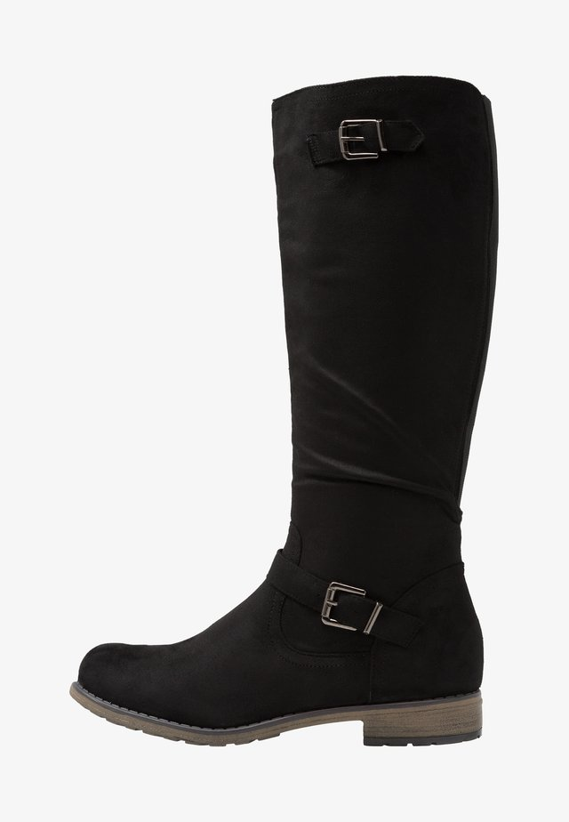 VANESSA - Stivali alti - black