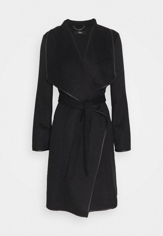 Classic coat - true black