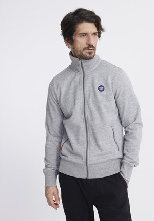 veste en sweat zippée - dark grey