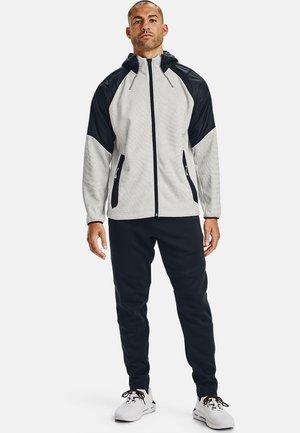 ESSENTIAL SWACKET - Zip-up hoodie - onyx white