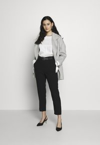 American Vintage - DADOULOVE - Classic coat - polaire chine - 1