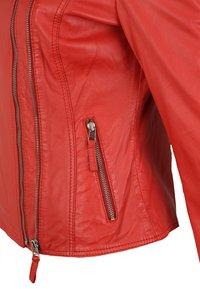 KRISS - NINA - Leren jas - fire red - 4