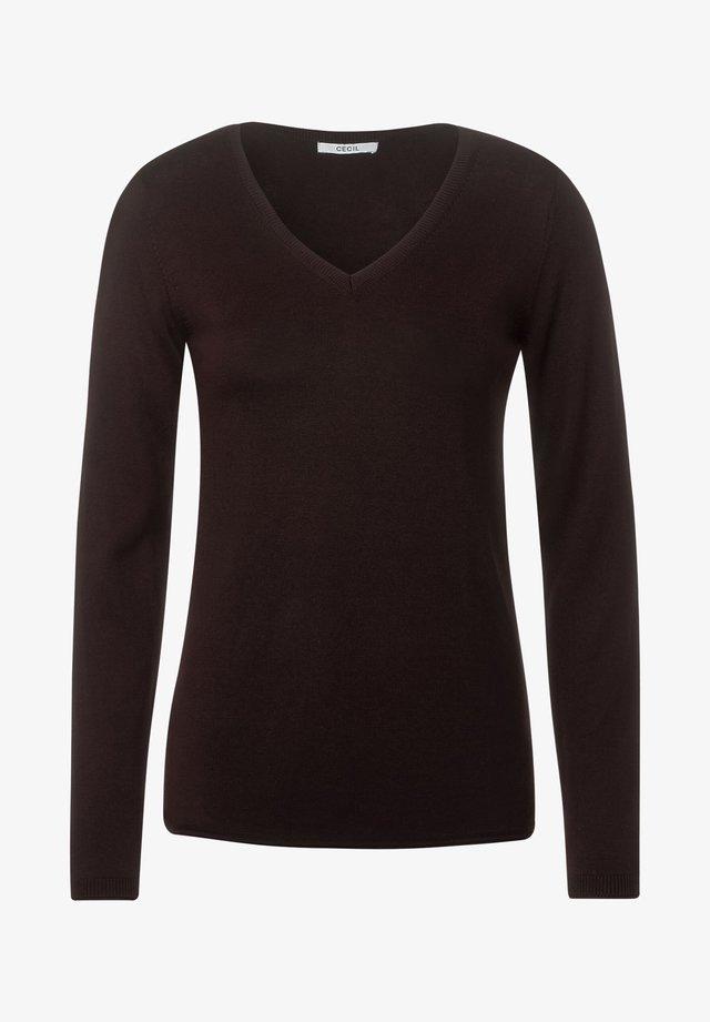 BASIC  - Pullover - braun