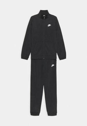 TRACKSUIT UNISEX - Trainingspak - black/white