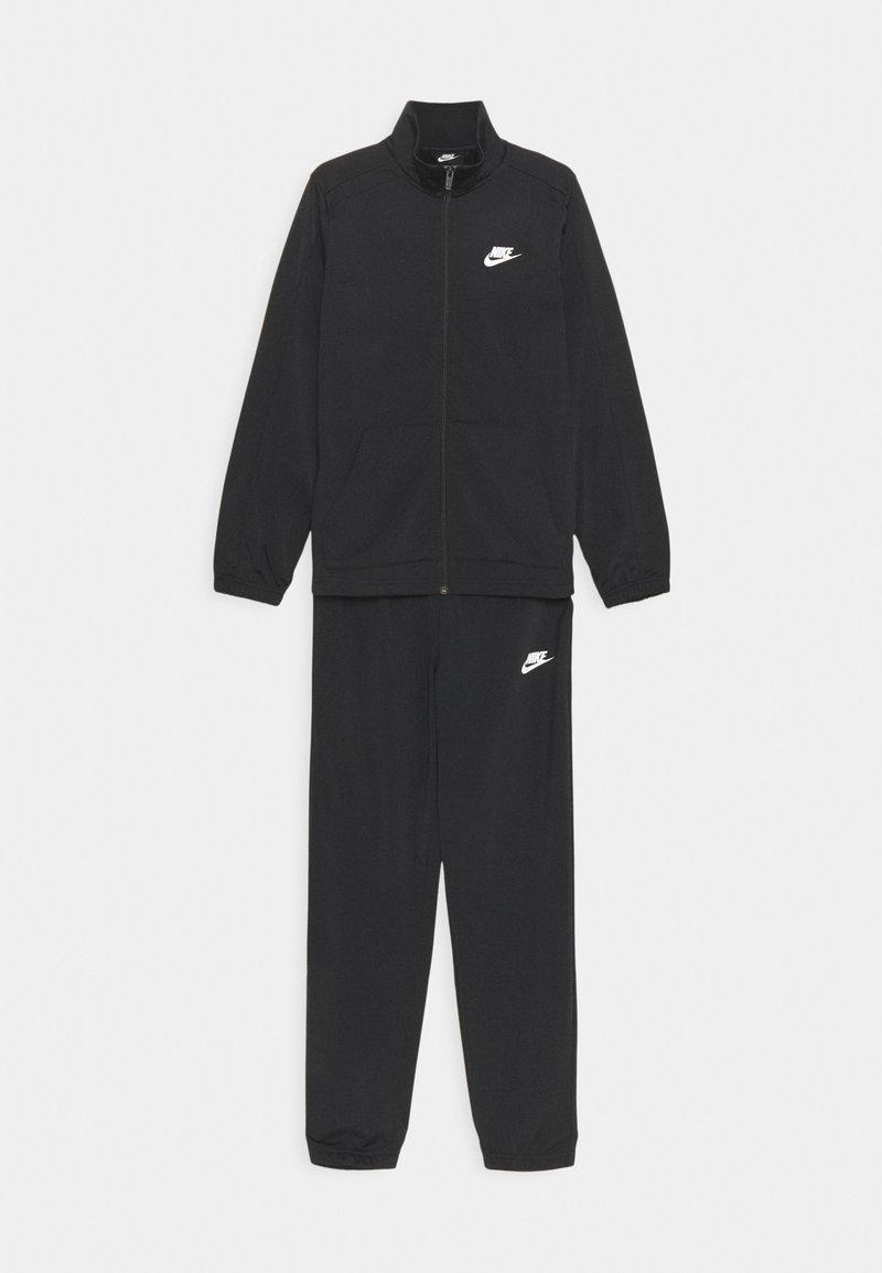 Nike Sportswear - TRACKSUIT SET UNISEX - Treningsdress - black/white