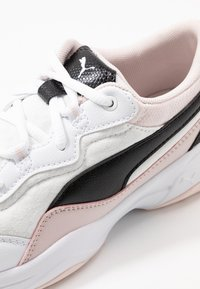 Puma - CILIA CHEETAH - Baskets basses - white/black/rosewater - 2