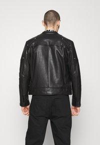 Just Cavalli - SPORTSJACKET - Leather jacket - black - 2