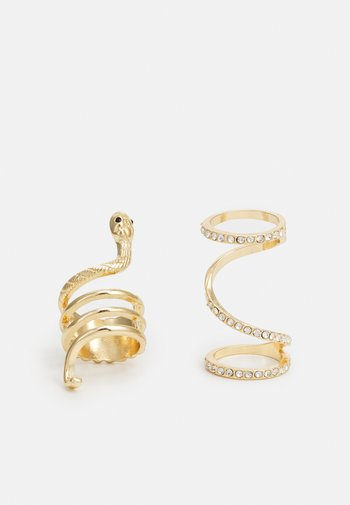 PCPAITE 2 PACK - Ring - gold-coloured