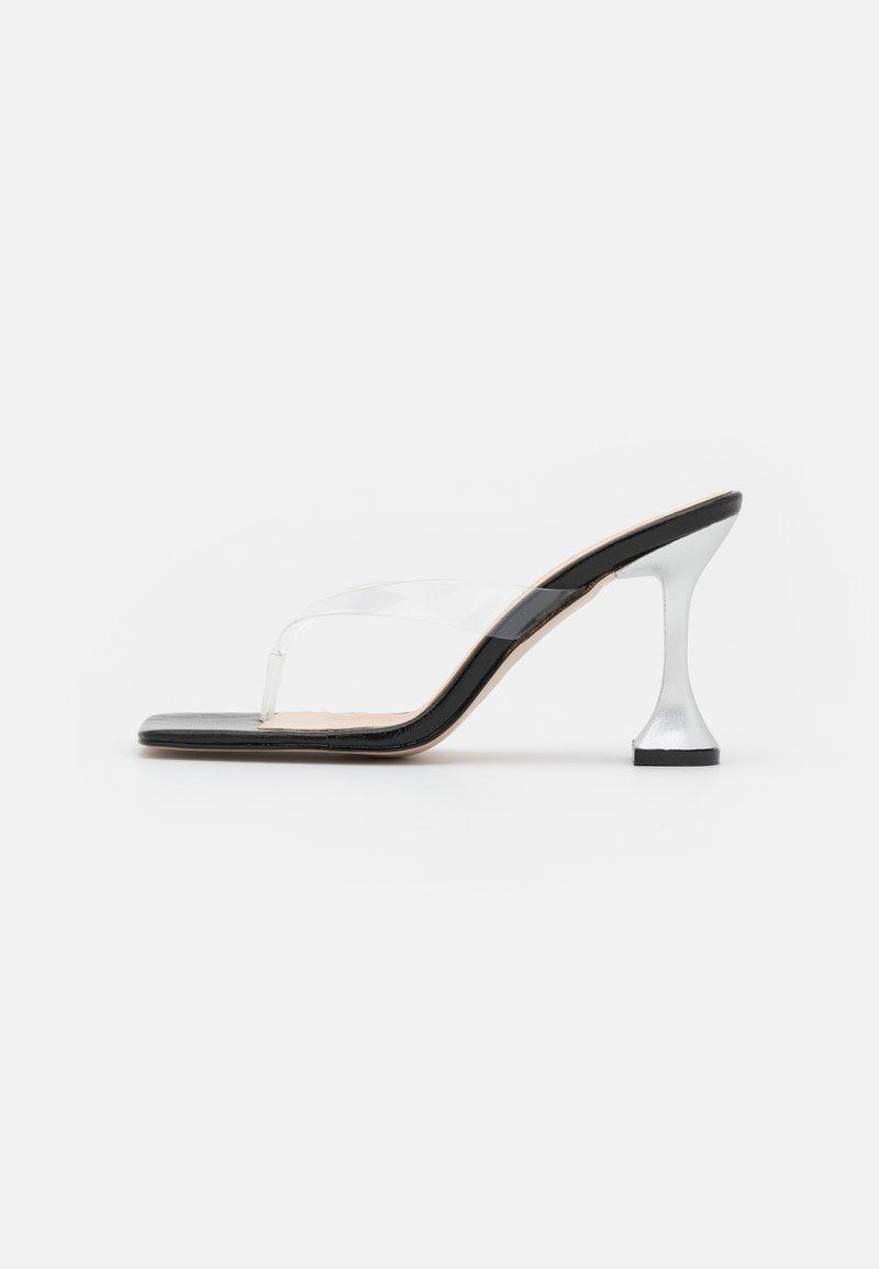 Trendyol - SIYAH - T-bar sandals - black