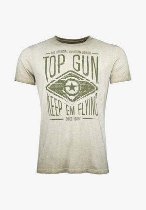 GROWL - T-shirt print - olive