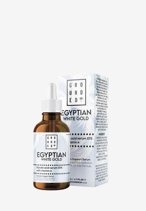 EGYPTIAN GOLD WHITE GLYCOLIC ACID SERUM 10% WITH VITAMIN E - Siero - white