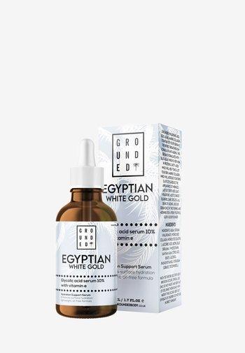 EGYPTIAN GOLD WHITE GLYCOLIC ACID SERUM 10% WITH VITAMIN E - Serum - white