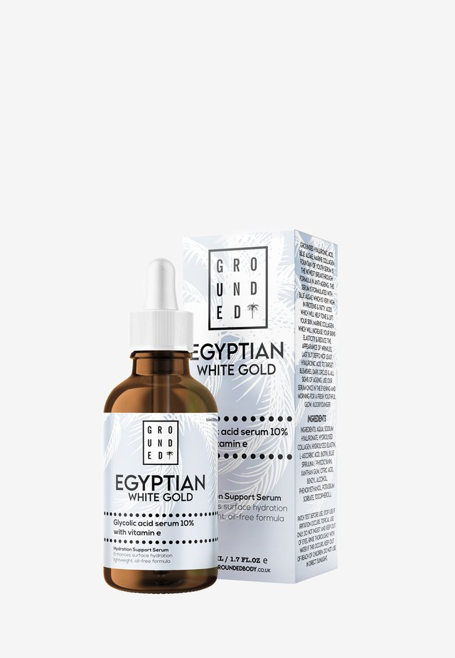 EGYPTIAN GOLD WHITE GLYCOLIC ACID SERUM 10% WITH VITAMIN E - Serum - white
