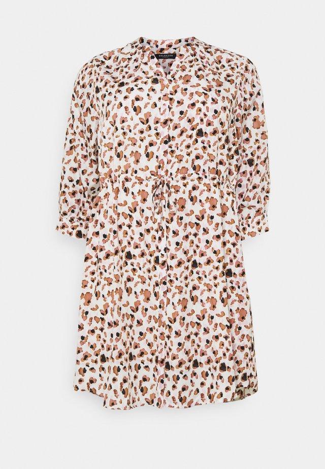 SLFMILD DAMINA DRESS - Vestito estivo - creme