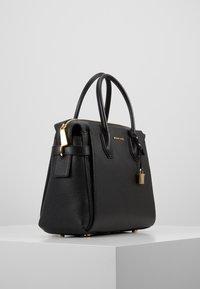 MICHAEL Michael Kors - MERCER BELTED SATCHEL - Handbag - black - 3