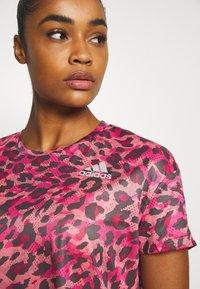 adidas Performance - PRIMEBLUE TEE - T-shirt con stampa - light pink - 3