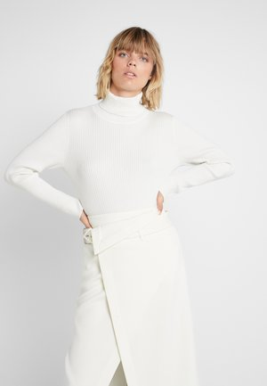 SOLID TURTLENECK - Jumper - ivory