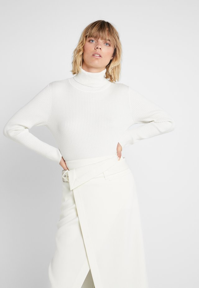 SOLID TURTLENECK - Trui - ivory
