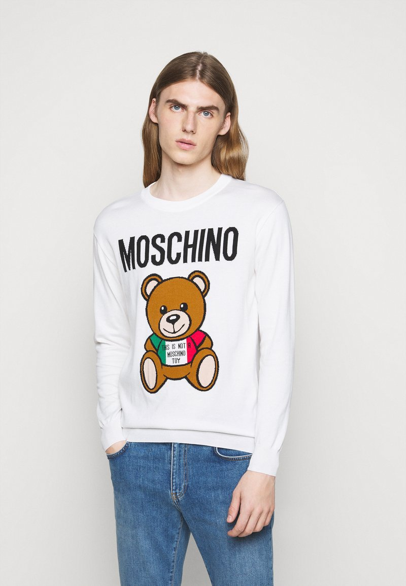 MOSCHINO - Jumper - white